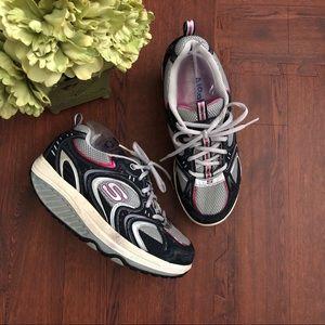 Women's Skechers Shape Ups Pink Blue Size 7.5